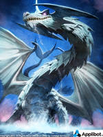 Hydro Dragon by Concept-Art-House