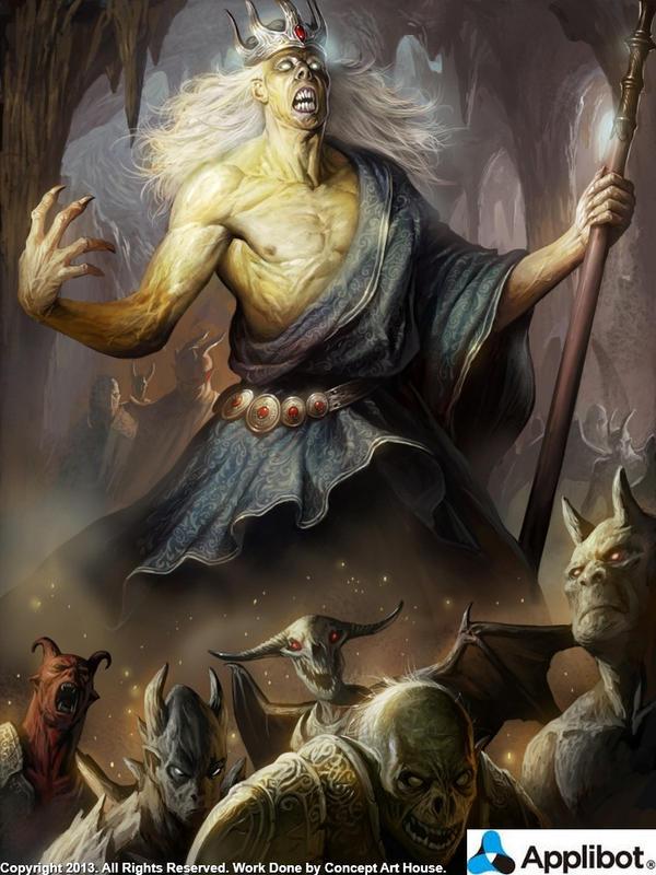 Sanctified Hades Regular By Concept Art House On Deviantart