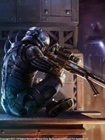 Rifleman, Regular by Concept-Art-House