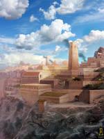 Desert City by Concept-Art-House