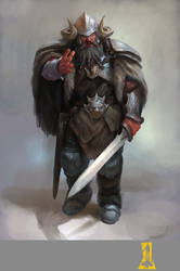 Northern Dwarf by Concept-Art-House