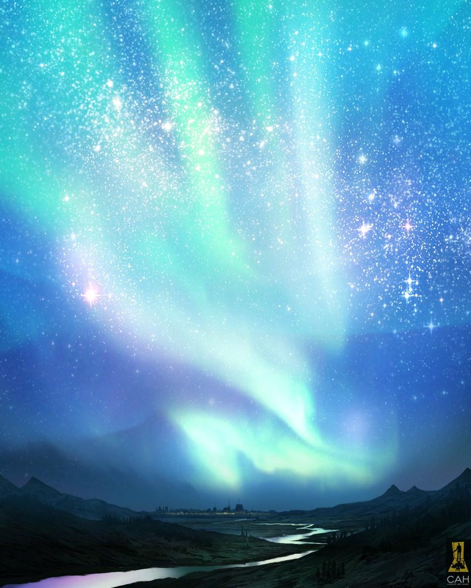 Aurora Borealis by Concept-Art-House