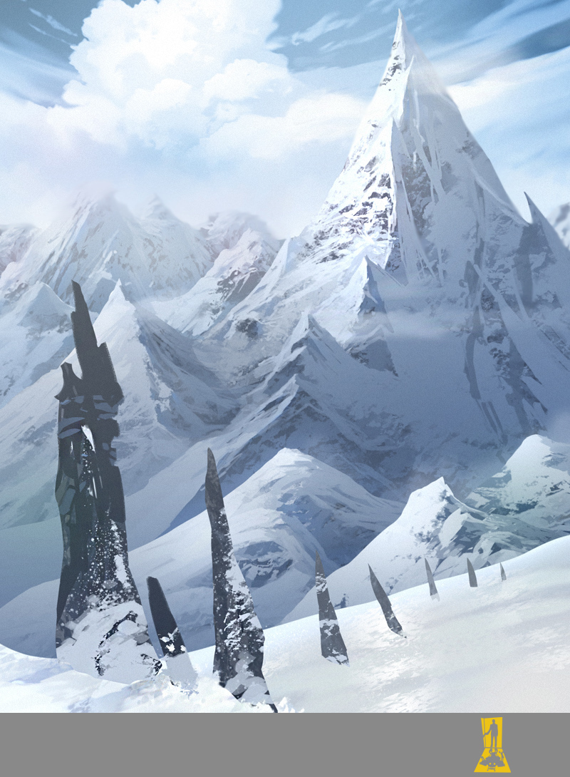 Winter Mountains by Concept-Art-House on DeviantArt