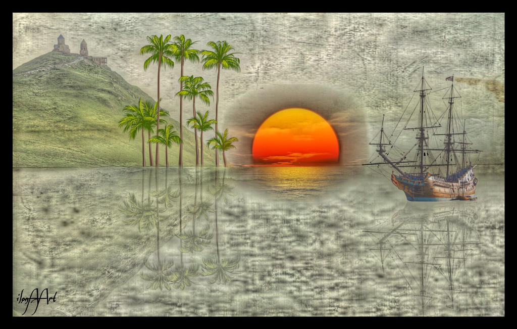 THE DISCOVERY TRAVELER IN THE 17TH CENTURY by IME54-ART