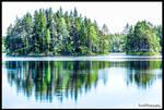UNDEN LAKE , MIDDLE SWEDEN