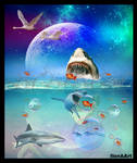 THERE ARE MANY SHARKS IN OUR WORLD