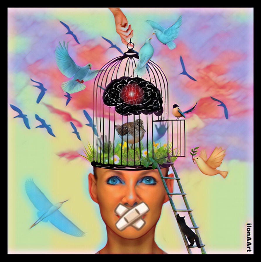 FREEDOM OF SPEECH ! by IME54-ART