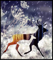 WHITE CHRISTMAS by IME54-ART