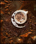 GOOD MORNING, TIME FOR COFFEE ! by IME54-ART
