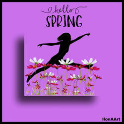 HELLO SPRING by IME54-ART