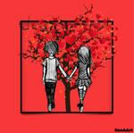 THE LOVE TREE by ILONA66-ART-IME