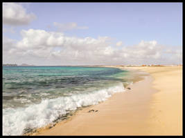 QUIET BEACHES ON CAPE VERDE ISLANDS ,SAL by IME54-ART