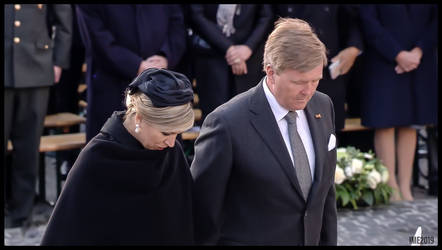 KING WILLEM ALEXANDER AND QUEEN MAXIMA, NETHERLAND by IME54-ART