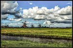 THE ZAANSE SCHANS, IN THE NETHERLANDS