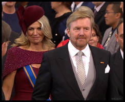 ROYAL COUPLE OF THE NETHERLANDS !
