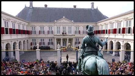 PRINCE,S DAY IN THE NETHERLANDS