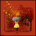 WHEN THE LEAVES FALL by IME54-ART