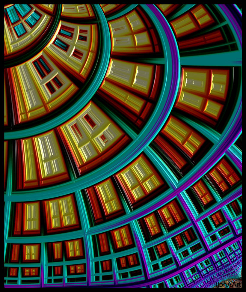 FRACTAL , WINDOWS by ILONA66-ART-IME