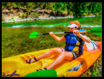 KAYAKING IN THE TARN, SOUTH FRANCE !
