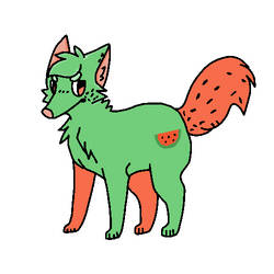 Water Melon Dog adopt Now 3 pts!