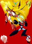 FINAL Kaiser Armor and Shin Armor vs their nemesis