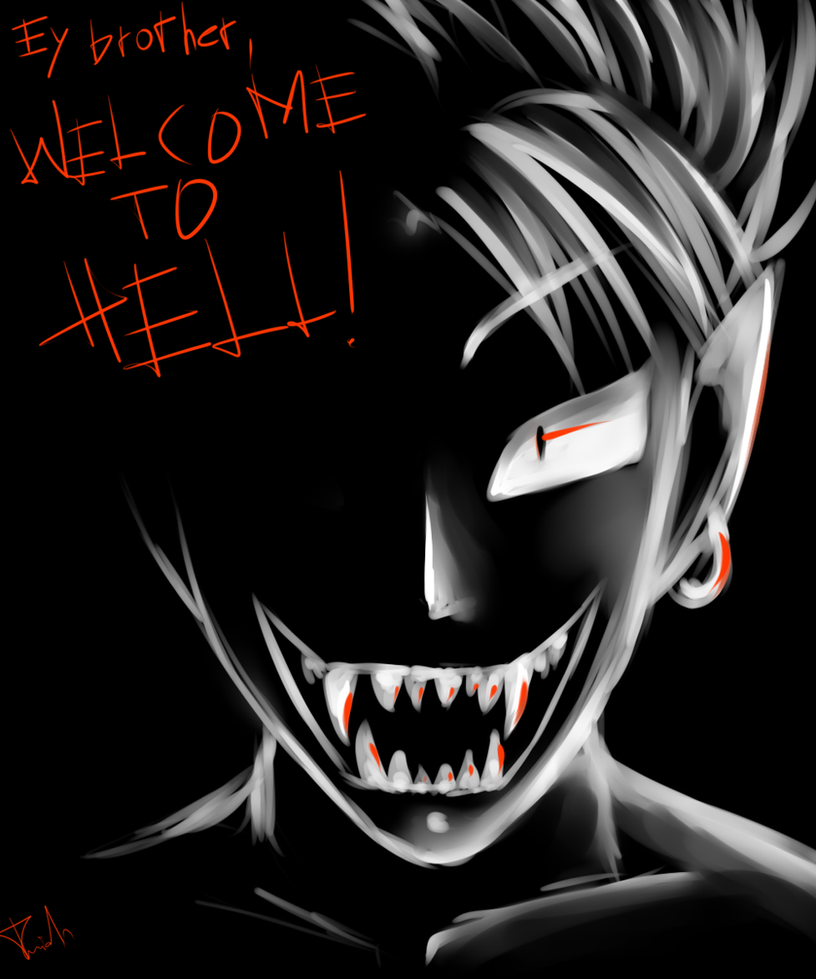 Welcome To Hell by Kamikaze-Kaito