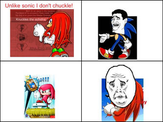 Knuckles by Ellieflash