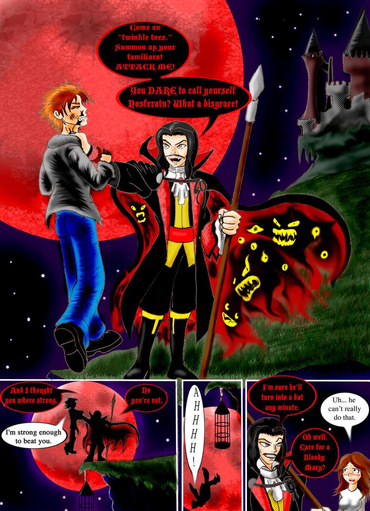 Twilight vs Dracula by Razmere