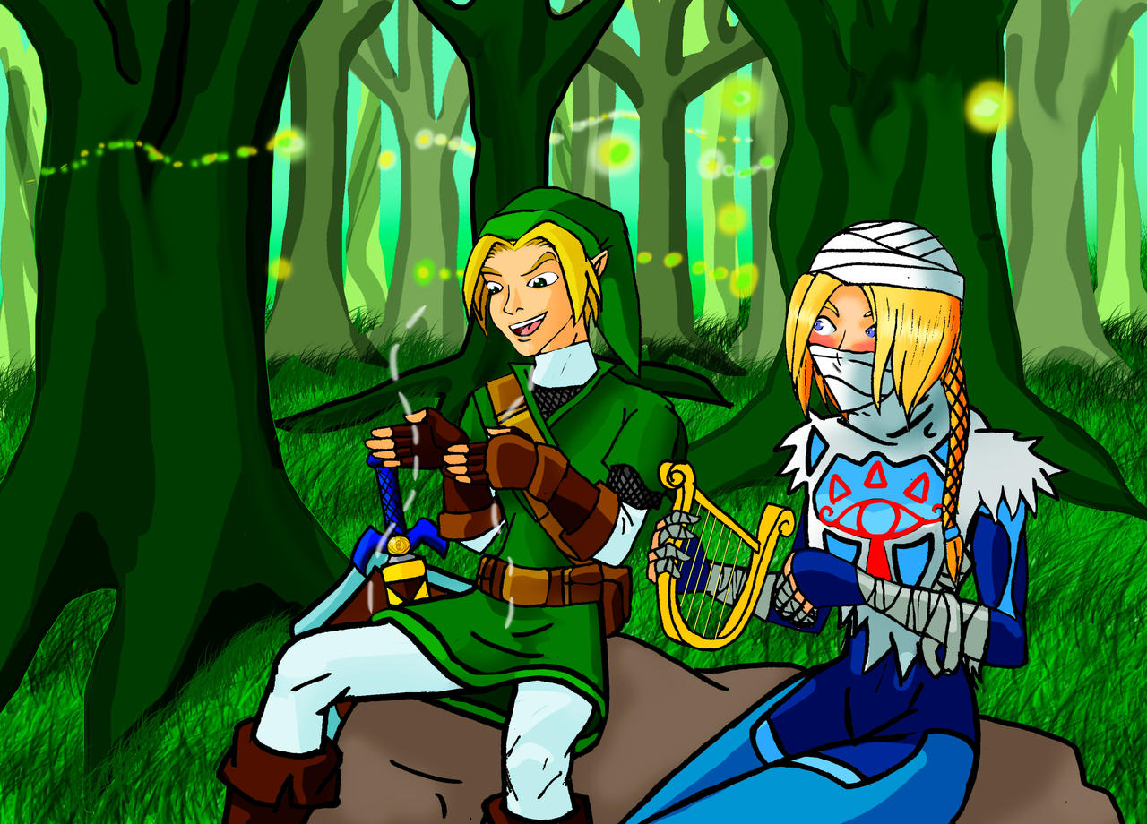 link and sheik wallpaper - photo #29