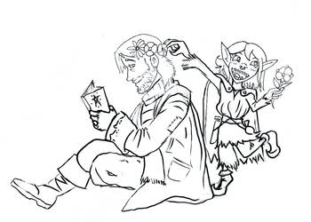 Critical Role: Nott and Caleb by Razmere