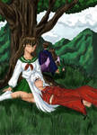 Sleepy Scenery-inuyasha-