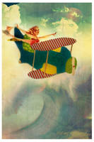 Flying by blutung-leichnam by VintageRepublik