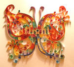butterfly quilling1