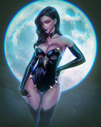 Scorpio the vampiress