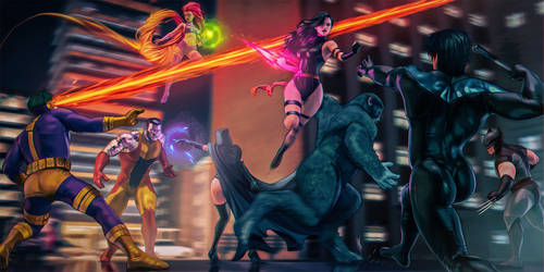 The X-men VS The New Titans