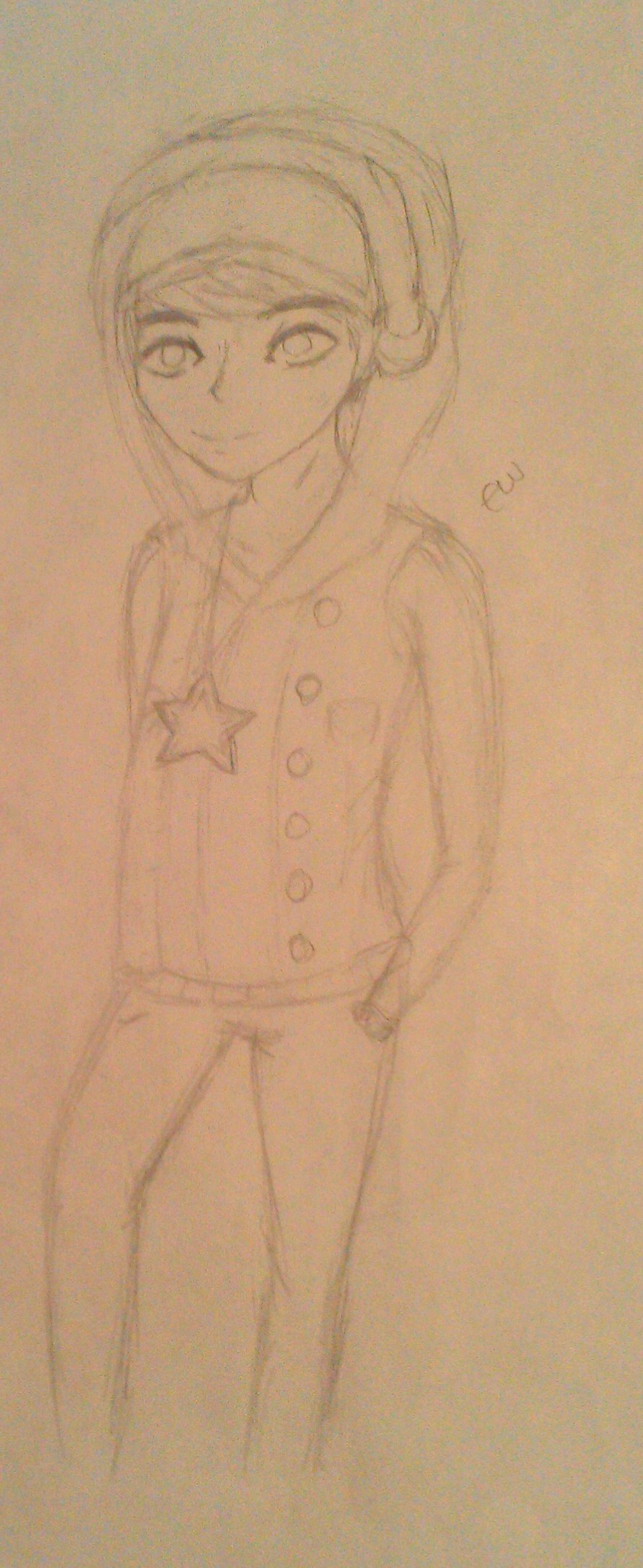 Subway Surfers Jake Star Outfit Drawing :subway surfers fanart: by