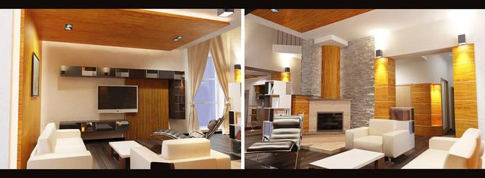 Interior re-design view 1