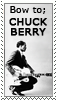 Chuck Berry Stamp by lalycorn