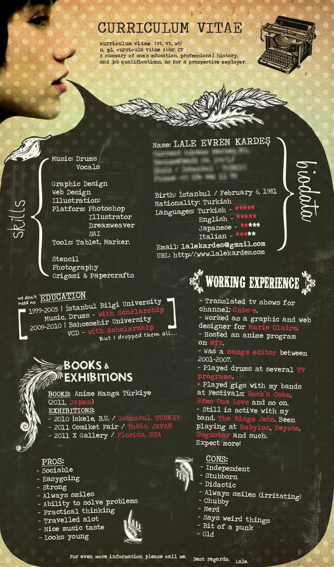 CV by lalycorn on DeviantArt