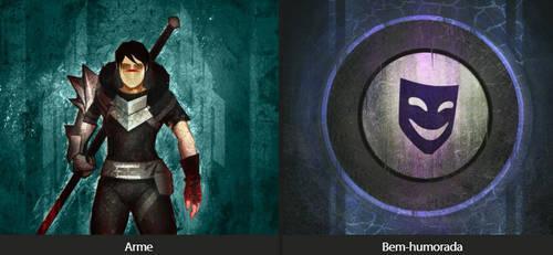 Dragon Age Keep - II - Arme by iLupusWild
