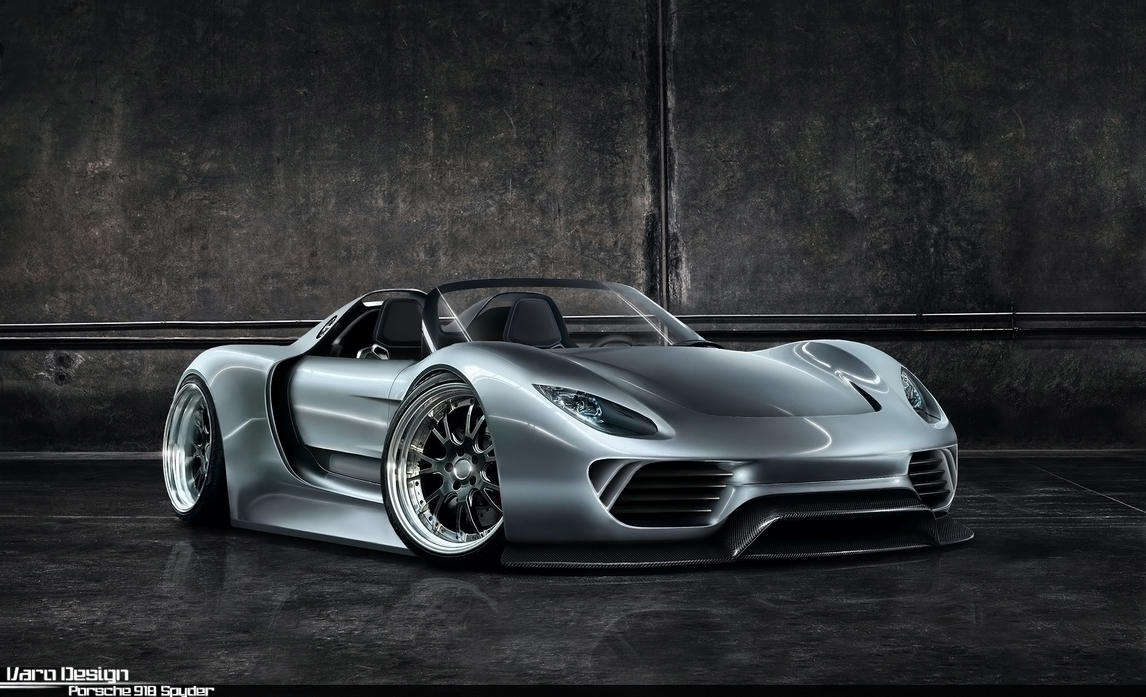 porsche 918 spyder by varodesign on deviantart. Black Bedroom Furniture Sets. Home Design Ideas