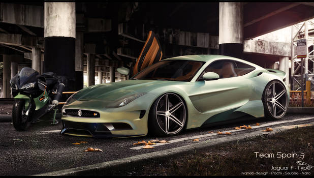 Jaguar F-Type Round 1 WTB 2013