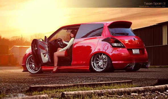 Suzuki Swift Round 3 WTB 2013