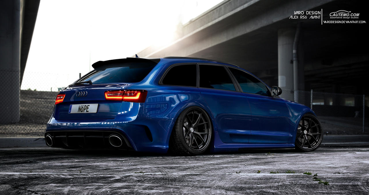 Audi Rs6 Avant By Varodesign On Deviantart
