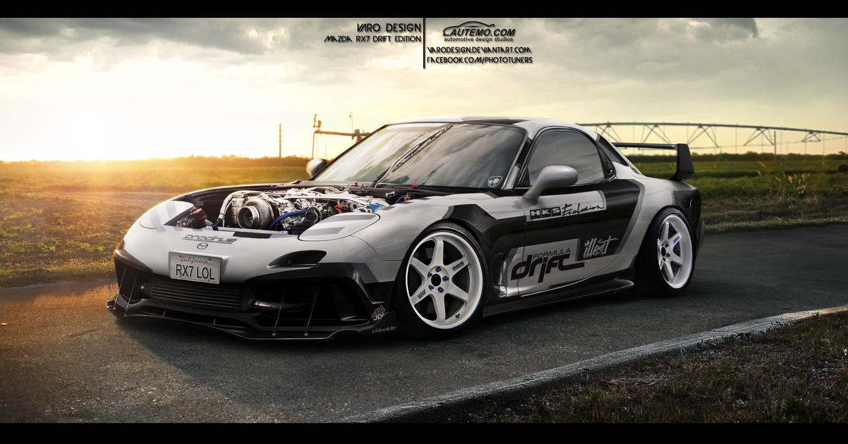 Mazda RX7 Drift by VaroDesign