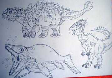 2016's Dinovember #43 by DiamondheadMan