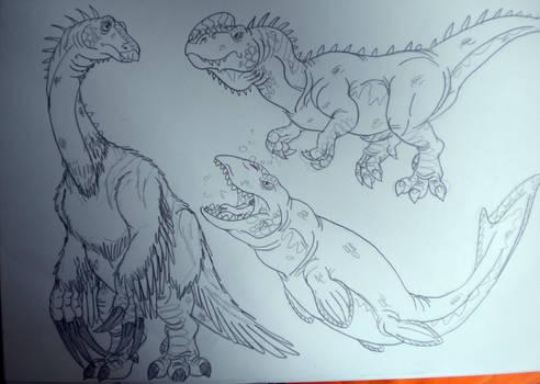 2016's Dinovember #46