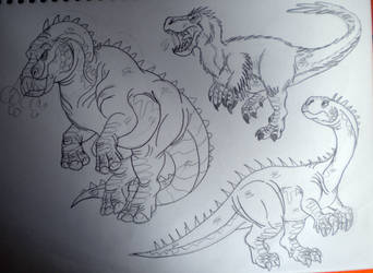 2016's Dinovember #49