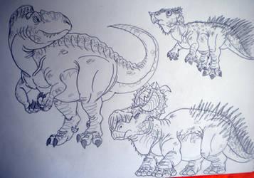 2016's Dinovember #50