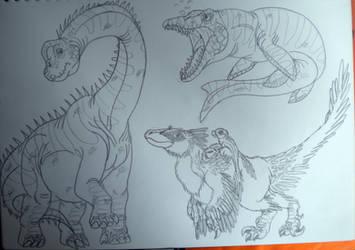 2016's Dinovember #53